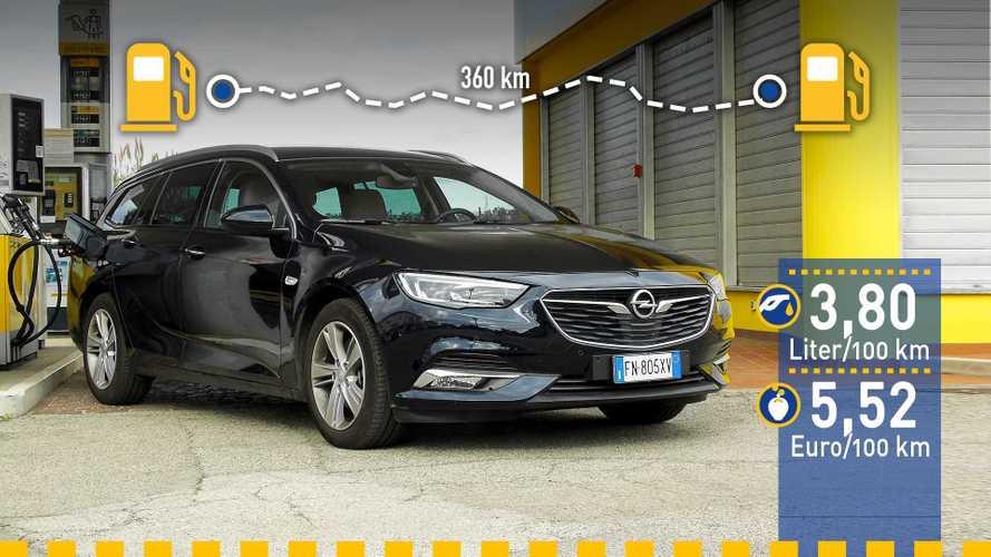 Tatsächlicher Verbrauch: Opel Insignia 1.6 Diesel im Test