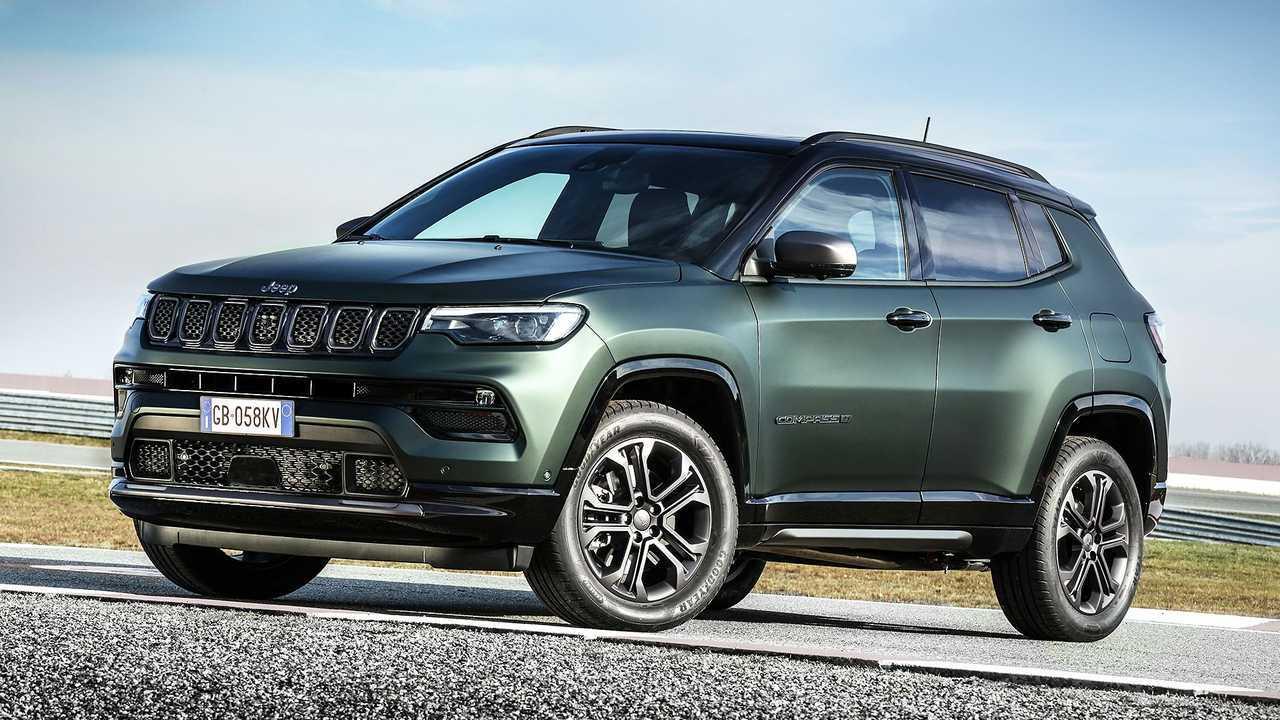 Jeep Compass 2021 80° Anniversario