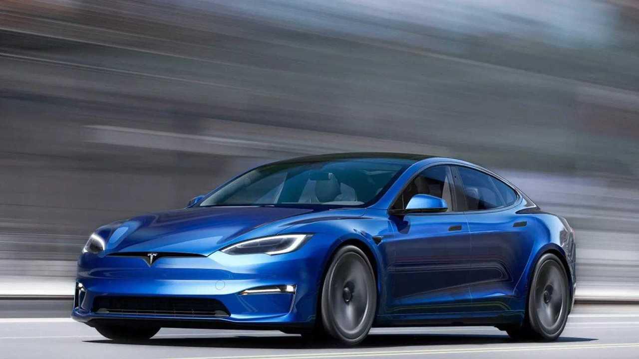 2021 Tesla Model S frissítés