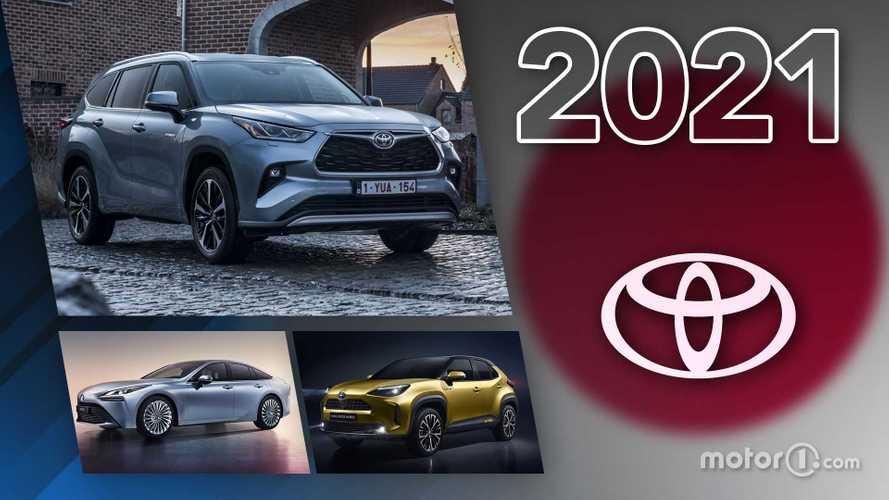Novità Toyota, ecco tutti i modelli in arrivo nel 2021