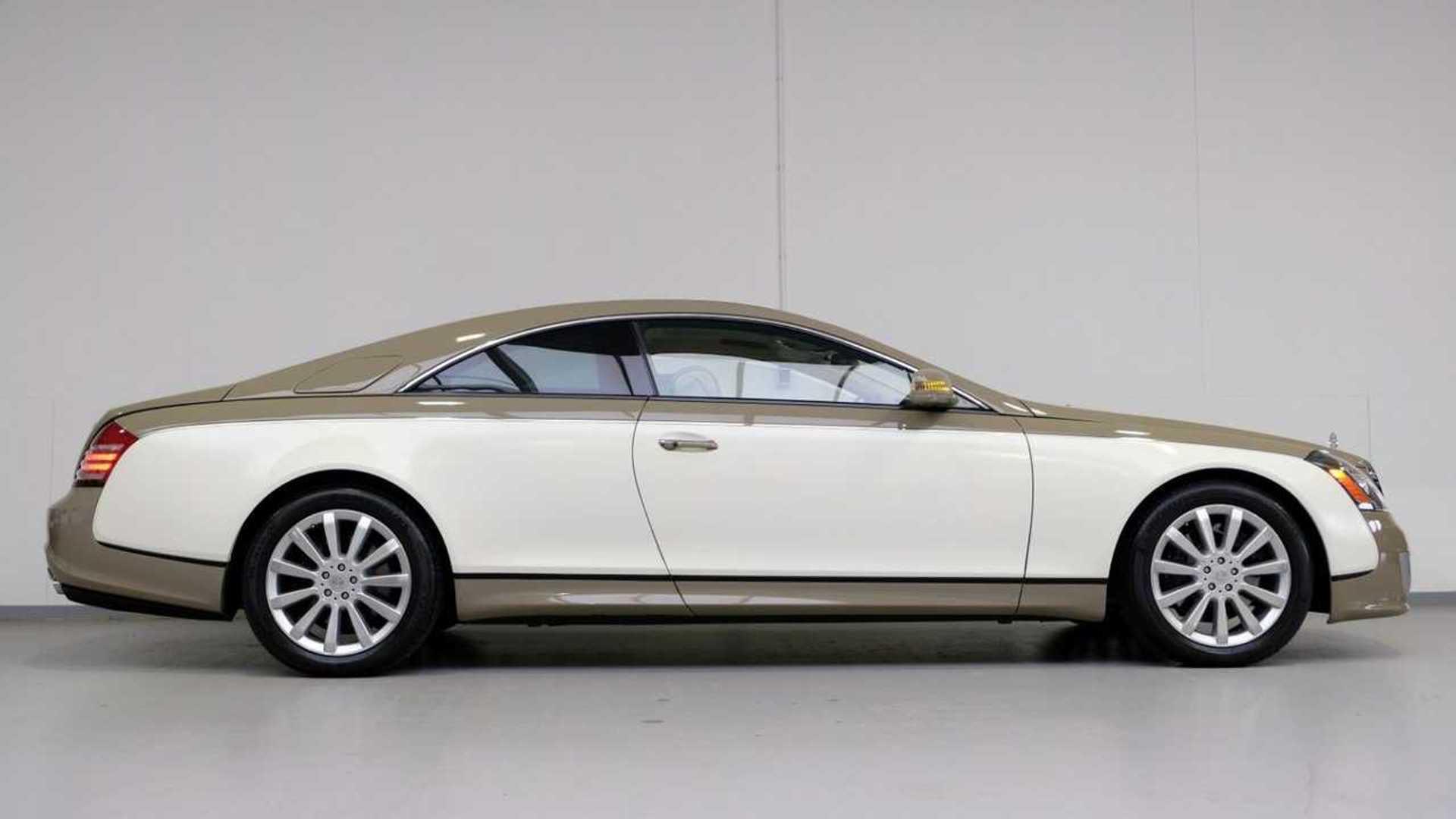 Ультра-редкое купе Maybach 57S — роскошный бежевый V12 за 1,16 миллиона долларов