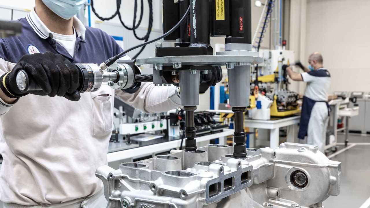 Maserati Nettuno Engine Lab