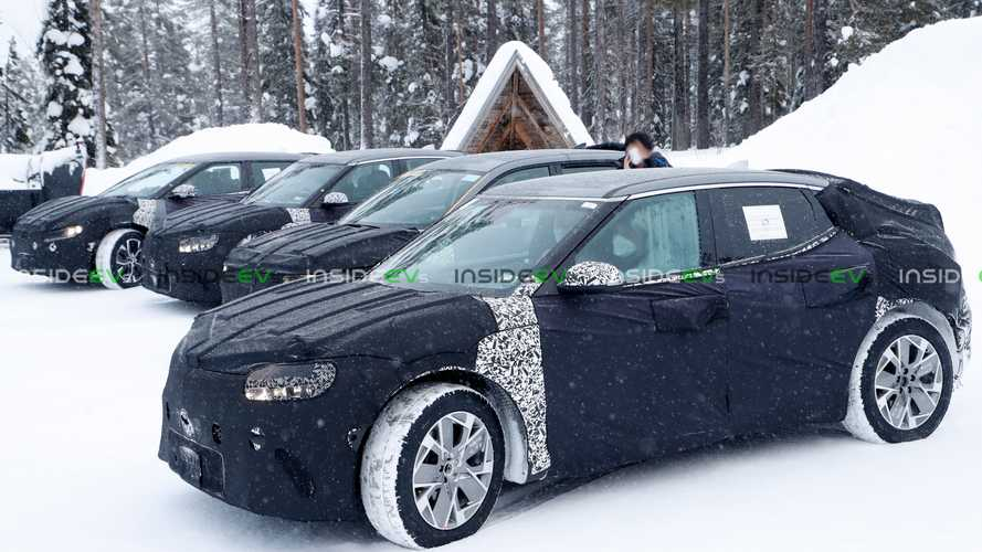 Will Genesis GV60 Electric Crossover Make Its Debut This June?