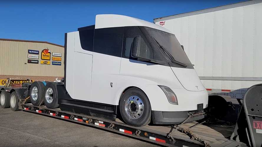 Watch these new Tesla Semi sneak peak videos