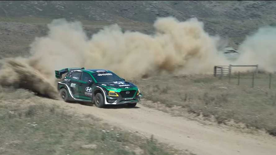 Hyundai Kona EV: l'elettrica da rally è un mostro da 500 CV
