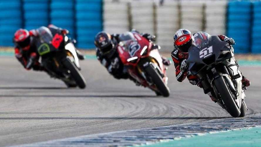 Ducati Panigale V4S Only 2 Seconds Off MotoGP Lap Times