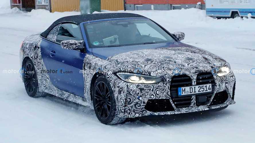 Makyajlı BMW X3 M ve yeni M4 Cabrio objektiflere takıldı