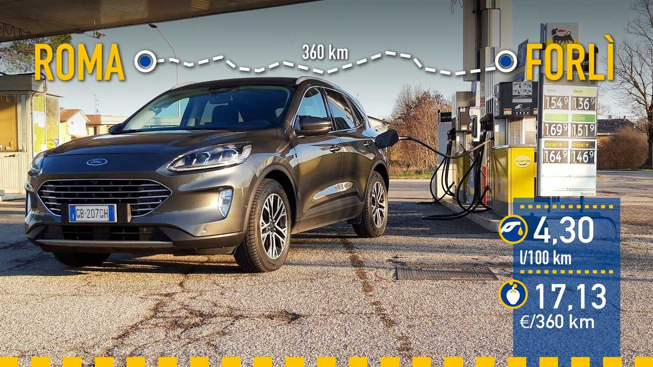 Ford Kuga EcoBlue MHEV, prueba consumo