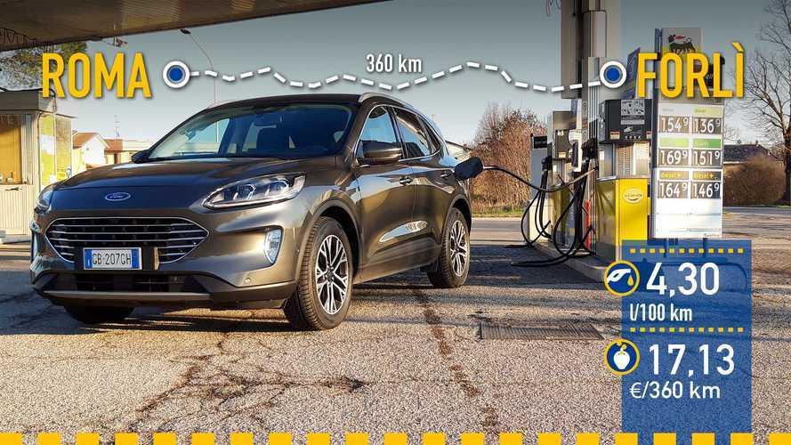 Ford Kuga EcoBlue MHEV 2021: prueba de consumo real