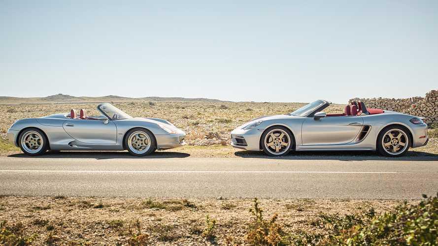 Porsche Boxster, 25 anni di evoluzione nelle foto più belle