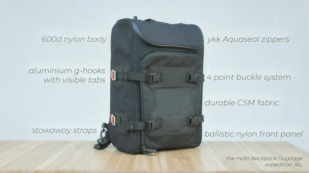 Rock Ready Engineering Expedition 36L - Features