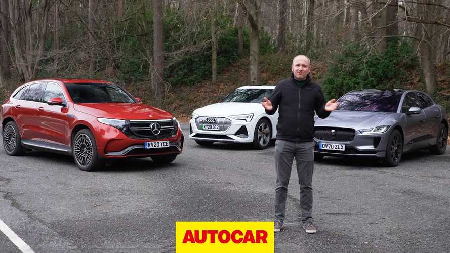 Best Three Non-Tesla Premium Electric SUVs Tested Head To Head By Autocar