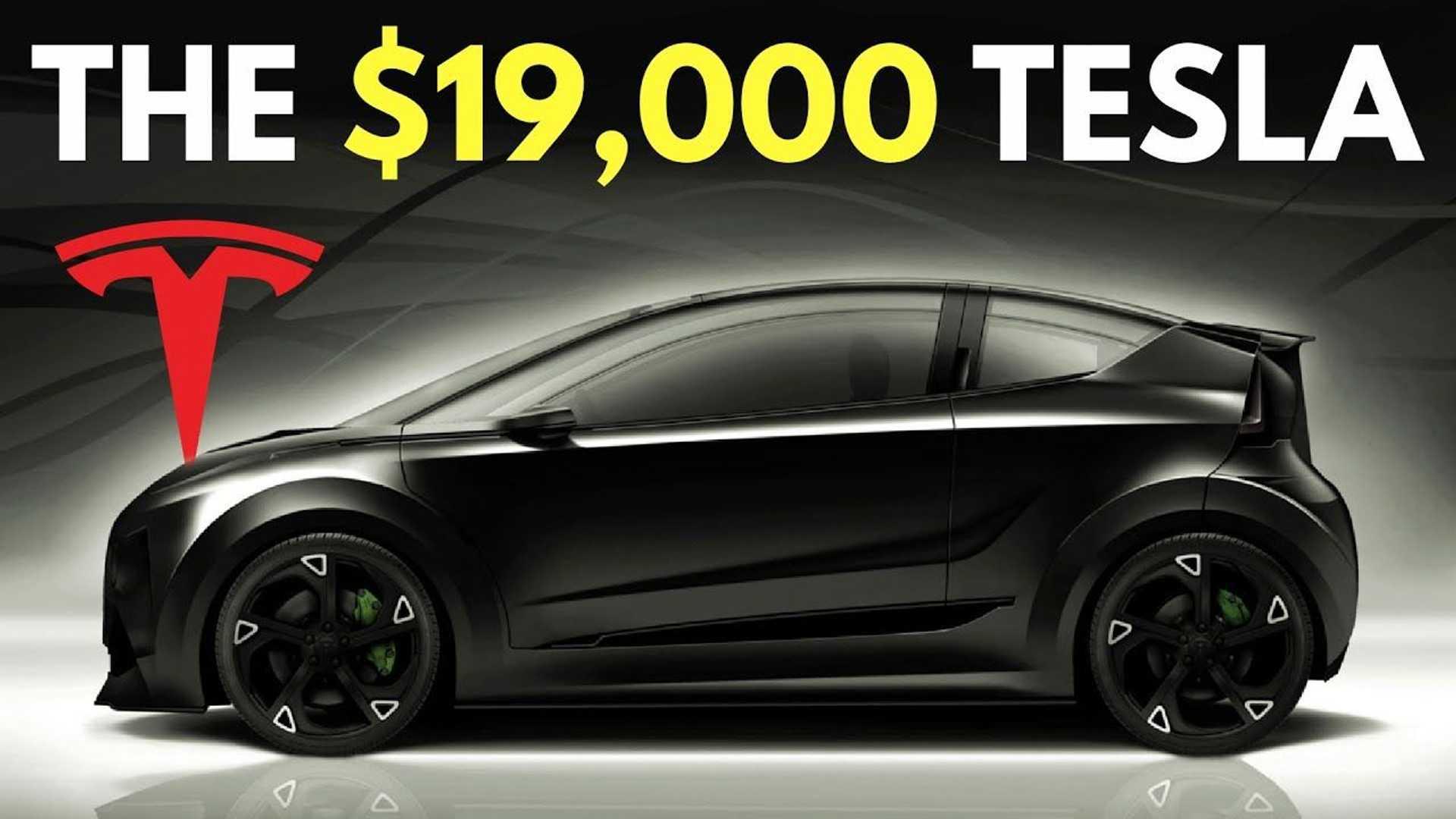 Et si la Tesla abordable ne coûtait que 17'000 € aux USA ?
