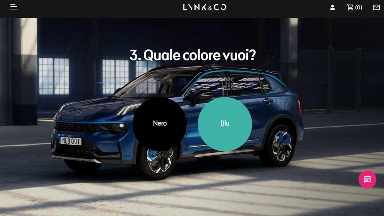 Lynk & Co 01, il sito web dove ordinarla