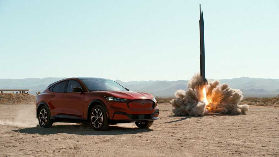 Watch Ford Mustang Mach-E Versus Rocket, Lightning, Gravity And More
