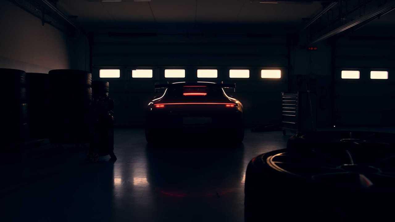 2022 Porsche 911 GT3 teaser