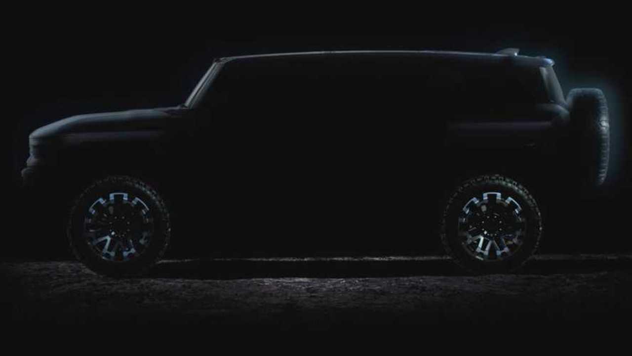 GMC Hummer SUV teaser