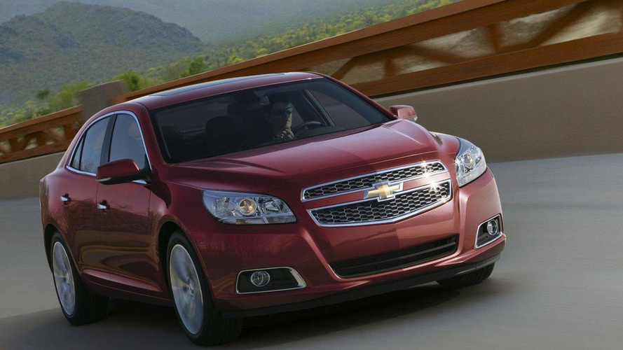 Euro-spec Chevy Malibu will debut in Frankfurt