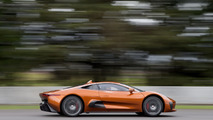 Jaguar C-X75 concept and Felipe Massa