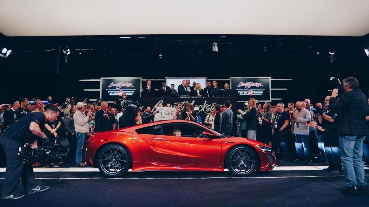 2017 Acura NSX #001