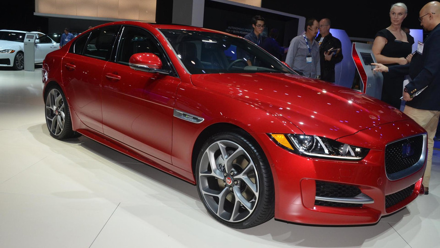 US-spec 2017 Jaguar XE debuts at LA Auto Show with all-wheel drive