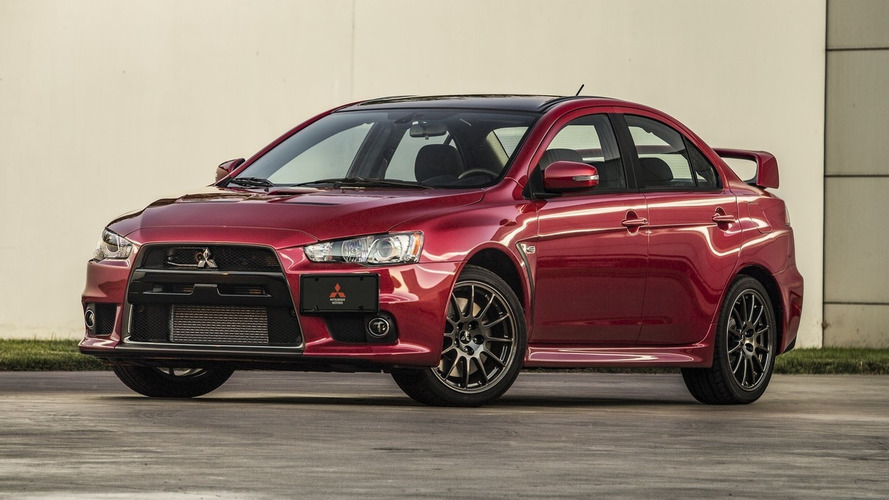 First 2015 Mitsubishi Lancer Evolution Final Edition