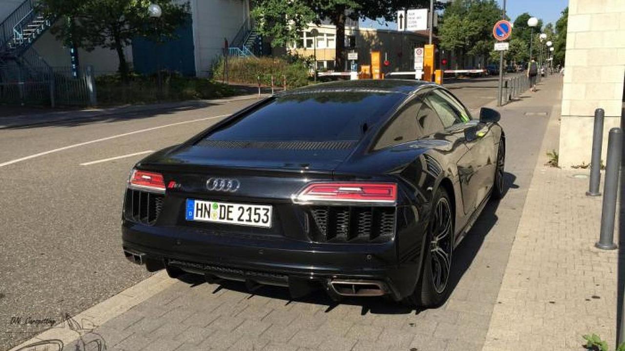 2015 Audi R8 V10 Painted In Mythos Black Seen In The Metal Motor1