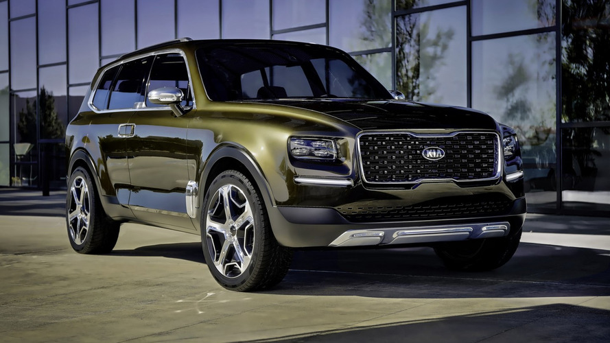 Kia Telluride Large SUV Production Version Officially Confirmed