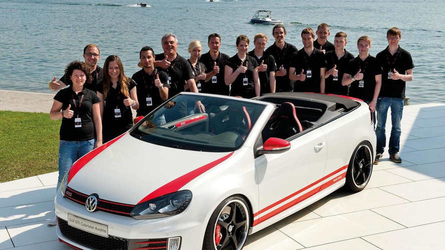 Volkswagen Golf GTI Cabrio Austria concept unveiled at Wörthersee