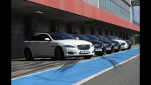 Jaguar, in pista con le R e la XJ Supercharged Supersport