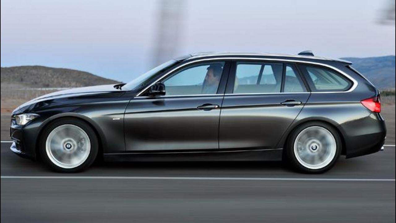 [Copertina] - Nuova BMW Serie 3 Touring 330d e 320d, viaggiatrici bavaresi