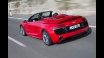 Audi R8 Spyder restyling - TEST