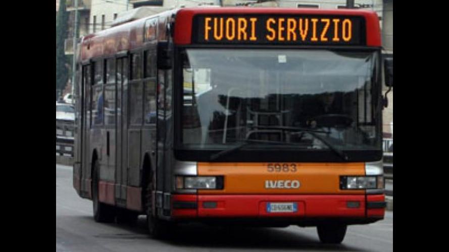 Sciopero trasporti: il 16 novembre un nuovo stop di 24 ore