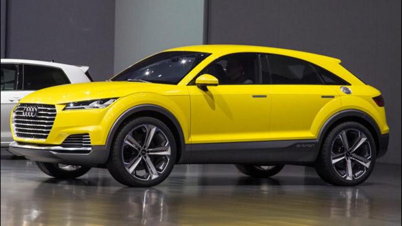 [Copertina] - Audi TT offroad concept, 100 km con 1,9 litri di carburante