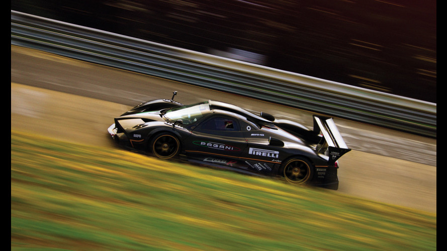 Pagani Zonda R: i video del Nurburgring