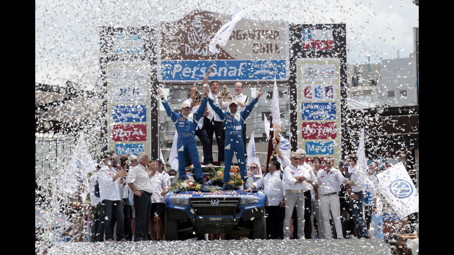 Dakar 2011: è tripletta Volkswagen
