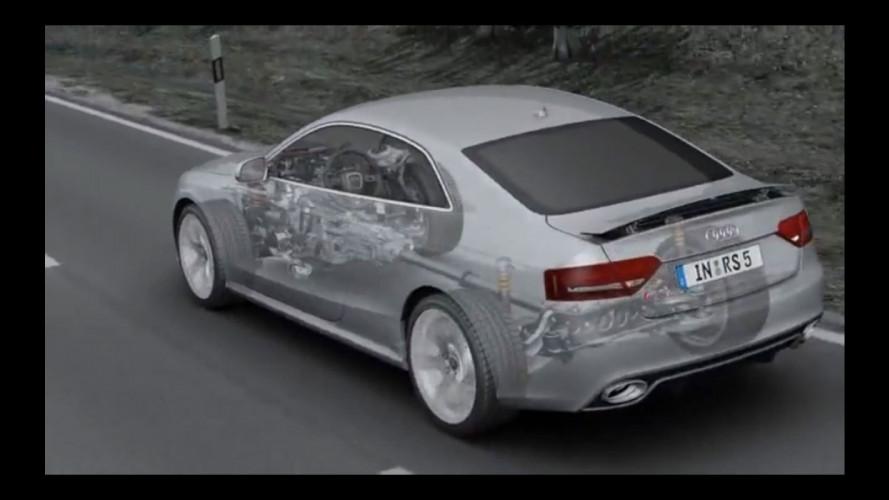 La trazione integrale quattro della nuova Audi A6