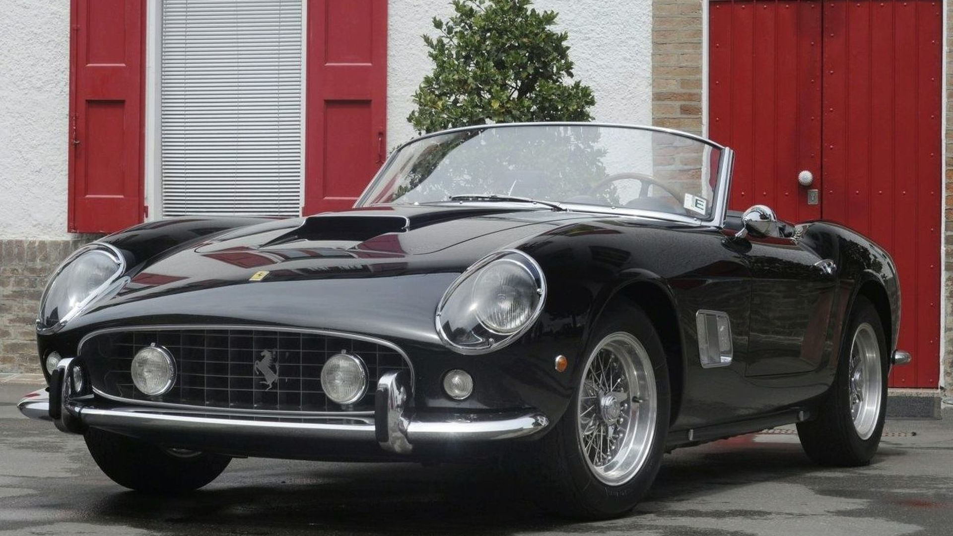 Radio Dj Chris Evans Buys 1961 Ferrari 250 Gt Swb California Spyder For 10 9 Million