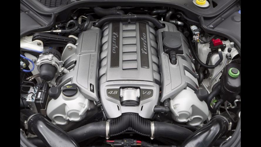 Porsche Panamera Turbo, novità nell'armadio