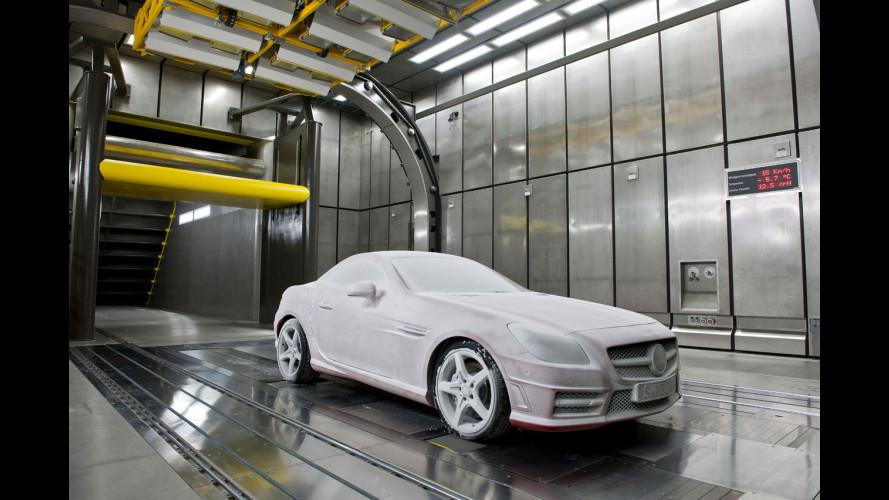 Mercedes: nuove gallerie del vento climatiche