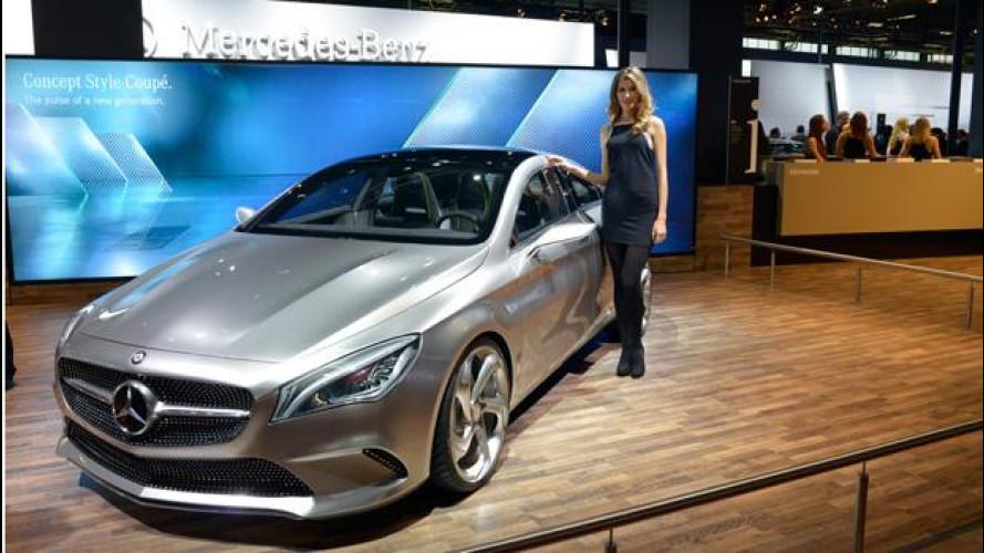Mercedes al Motor Show 2012