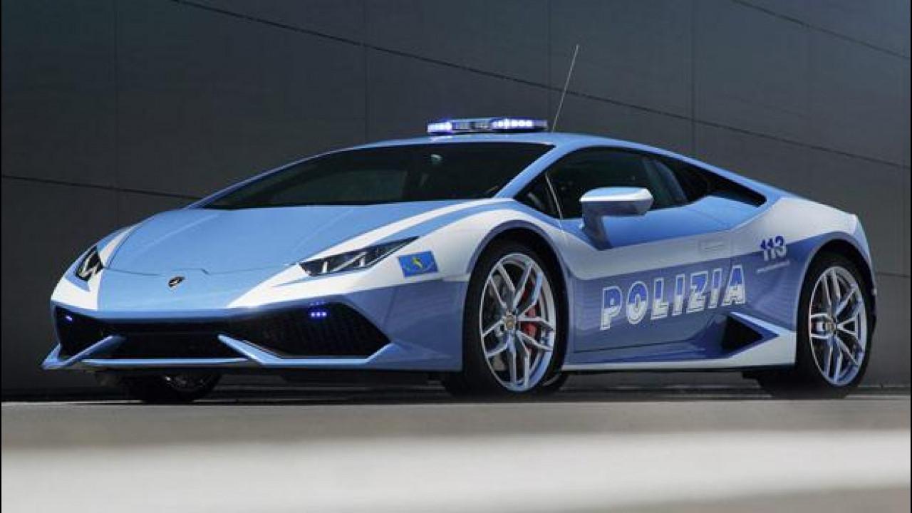 [Copertina] - Lamborghini Huracán LP 610-4 Polizia, la nuova supercar in divisa