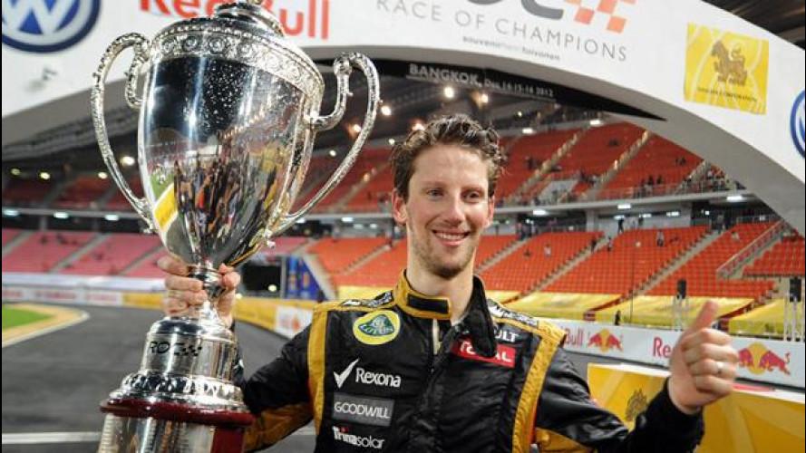 Race of Champions 2012: vince Grosjean, Germania a 6 titoli consecutivi