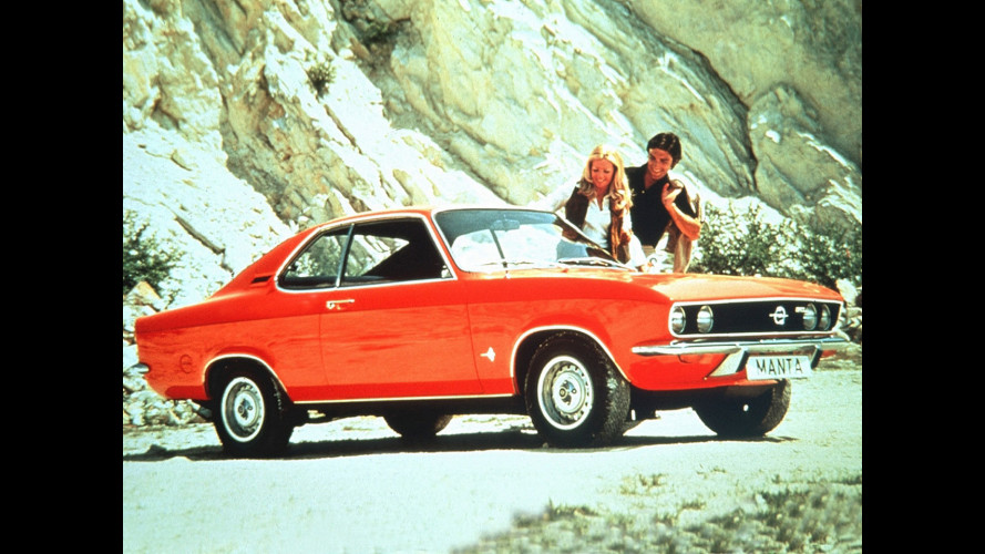 "Opel Manta, la ""razza"" anti Capri"