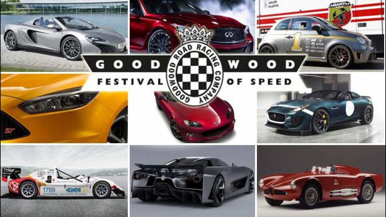 [Copertina] - Goodwood incandescente con il Festival of Speed