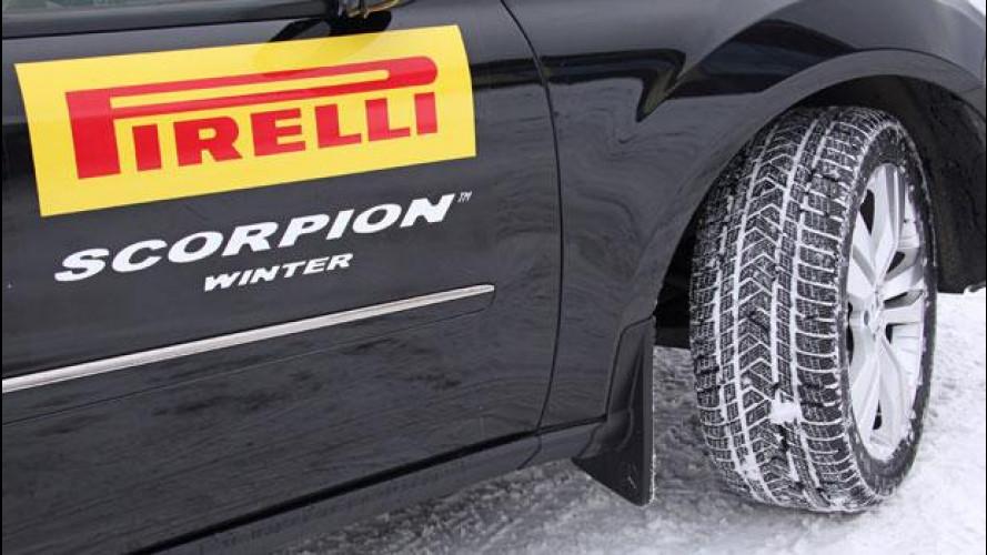 """Pirelli Scorpion Winter: il nuovo """"invernale"""" per SUV e Crossover"""