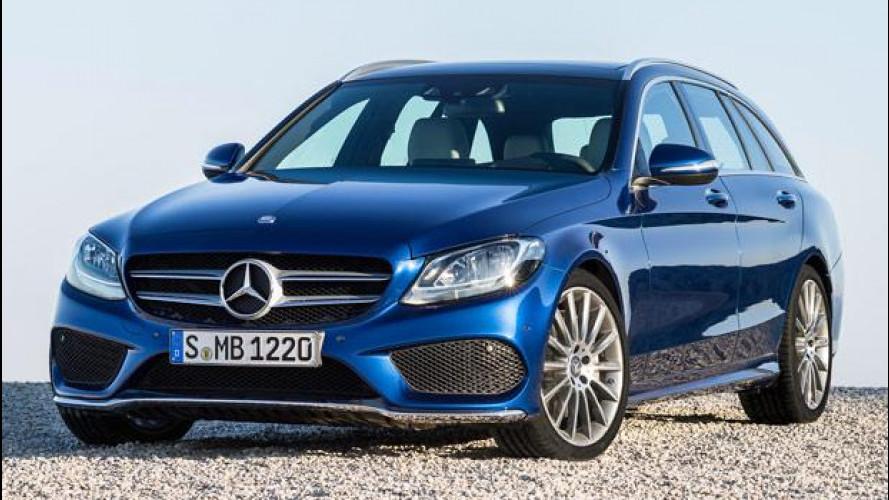 Mercedes Classe C Station Wagon, prezzi da 37.372 euro