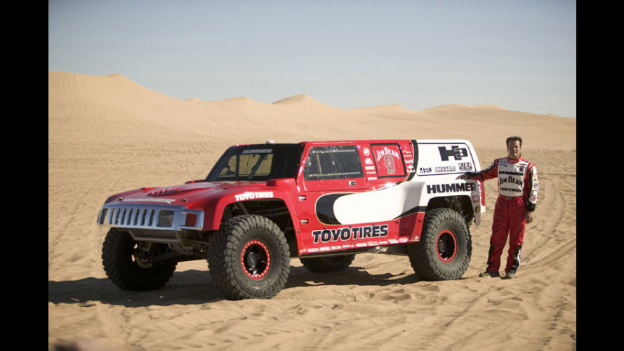 L'Hummer H3 alla Dakar 2007