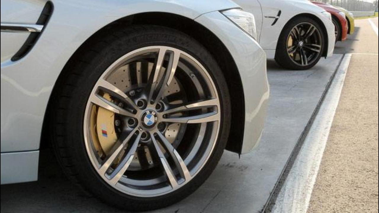 [Copertina] - Le  nuove BMW M3 e M4 calzano Michelin Pilot Super Sport