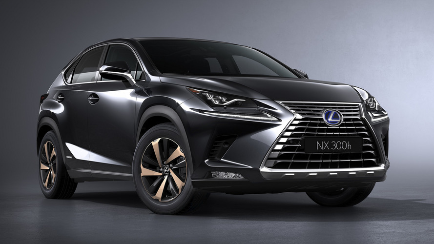 Lexus adds new Premium Sport Edition to NX hybrid SUV range